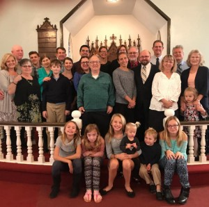 Church family 2018